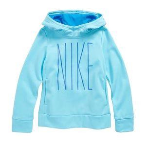 EUC Nike Dri Fit Therma Hoodie for Girls